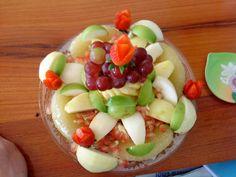 Đĩa hoa quả tráng miệng ấn tượng cho ngày đám cưới  mùa thu