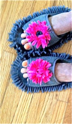 floor cleaning slipper! they work!!