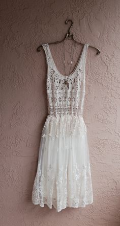 Browse all products in the Boho Gypsy Clothing category from Bohemian Angel. Dress Skirt, Dress Up, Lace Dress, Tulle Dress, Bohemian Beach Wedding Dress, Ballerina Dress, Bohemian Mode, Bridesmaid Dresses, Wedding Dresses