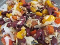 Kidneybohnen-Sardinen-Salat stärkt die Nieren