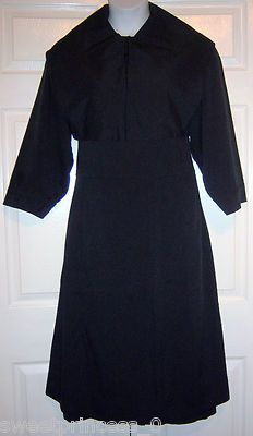 Amish Dress Suit Dress Cape Apron 44/40 Pa. Amish Clothing