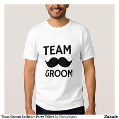 Team Groom Bachelor Party Tshirt