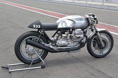 Moto Guzzi racer by Axel Budde