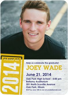 Marked Success - #Graduation Invitations - Magnolia Press in Goldenrod Yellow