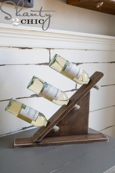 Wooden-Table-Top-Wine-Holder-DIY