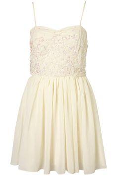 Vintage Sequin Bodice Dress By Dress Up Topshop** - Dresses - Clothing - Topshop
