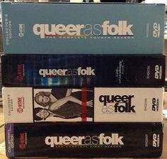 Queer as Folk seasons 1-4 (1,2,3,4) DVD Showtime NO SCRATCHES! PERFECT DISCS!