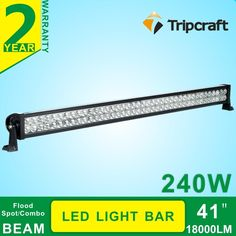 96.52$  Buy now - http://aliv12.worldwells.pw/go.php?t=32620247268 - Promotion 240W 41 Inch LED Work Light Bar Off Road Lights Driving Lamp Combo Beam For Truck SUV Boat 4X4 4WD ATV 96.52$
