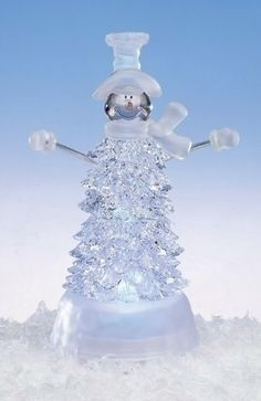 "8"" Icy Crystal Clear LED Lighted Snowman Christmas Tree Figure Roman,http://www.amazon.com/dp/B00DNJOF8I/ref=cm_sw_r_pi_dp_Z6KSsb0ZP6399XH7"