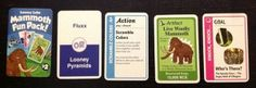 Mammoth Fun Pack from Looney Labs! Promo card for 5 of their games, including Fluxx. CatMonkeyGames@aol.com