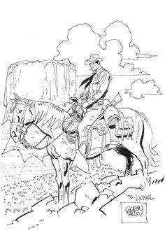 Tex Willer (Goran PARLOV) Comic Art