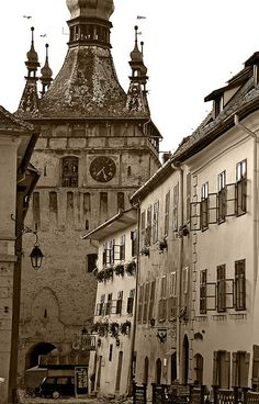 Sighisoara by SBA73, via Flickr