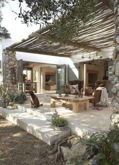 42 Patio Decoration To Inspire and Copy – Home Decor Ideas - Terrasse Pergola With Roof, Pergola Patio, Diy Patio, Backyard Patio, Modern Pergola, Backyard Storage, Small Pergola, Covered Pergola, Small Patio