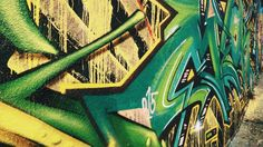 Graffitti wall in czech r.