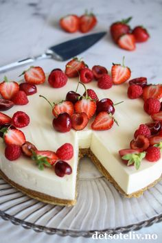 Food Decoration, Panna Cotta, Cheesecake, Deserts, Food And Drink, Lemon, Pudding, Sweets, Cookies