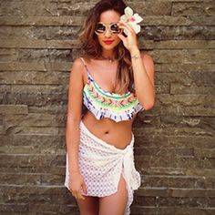 Let Shay Mitchell's Surfer Girl Style Inspire Your Beachy Weekend   Shop her look. #SELFmagazine