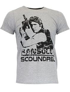 Star Wars Mens Han Solo Short Sleeve TShirt XXlarge >>> Check out this great product.