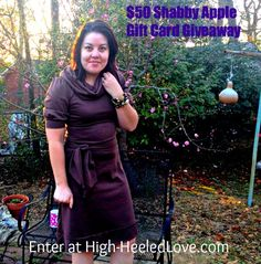 High-Heeled Love: Its a giveaway! Shabby Apple style.  Win a $50 gift card to Shabby Apple at www.high-heeledlove.com