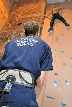 Soldiers Using Indoor Climbing Wall by Defence Images, via Flickr