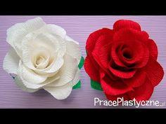 Bardzo prosta i realistyczna róża z papieru! #6 - YouTube