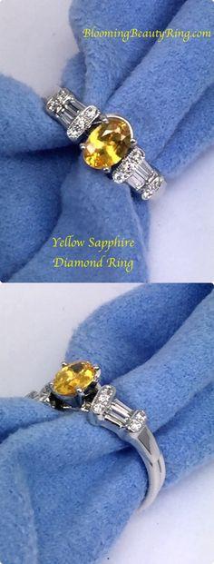 Popular Engagement Rings, Engagement Ring Settings, Diamond Engagement Rings, Cute Jewelry, Jewlery, 3 Stone Diamond Ring, Flower Rings, Peach Sapphire, Diamond Alternatives