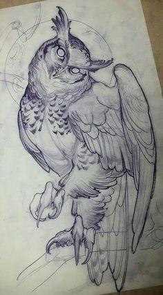 Best Tattoo Trends – Owl tattoo design • Visit artskillus.ru for more tattoo ideas The post Tattoo Trends – Owl tattoo design • Visit artskillus.ru for more tattoo ideas appeared first on Garden ideas. Owl Tattoo Design, Tattoo Designs Men, Animal Drawings, Art Drawings, Drawing Animals, Animal Skull Drawing, Pencil Drawings, Drawings Of Tattoos, Eagle Drawing