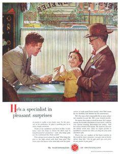 The Watchmakers Of Switzerland - 19540313 Post