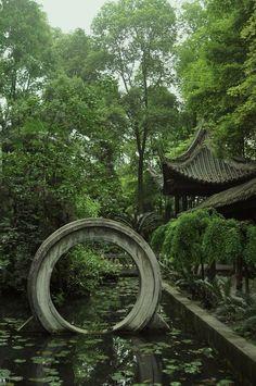 Manjushri (Wenzhu) Monastery, Chengdu, Sichuan.