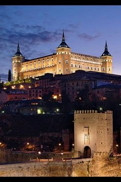 Toledo: In central Spain. A famous medieval city near Madrid, on the Tajo River.