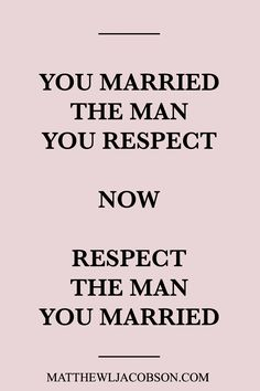 Let's keep it real - husbands often make respecting them difficult. How can a wife respect a husband who hasn't earned it? Should she even do that?