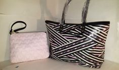 ICYMI: NWT Betsey Johnson Shoulder Tote 2-in-1 East West HANDBag/ Wristlet Pouch