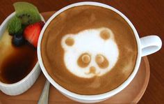 "My Coffee: ""Don't Drink me! I am to cute!""  My Reply: ""Not for long!""    Image from Womansday"