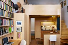 You won't believe these tiny homes that managed to squeeze in a home office.