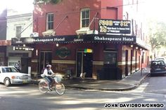Best pubs in Sydney. The Shakespeare Hotel, Surry Hills.