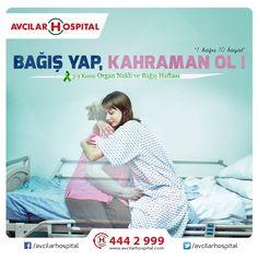 3-9 Kasım Organ Nakli ve Bağışı Haftası Organ nakli bekleme listesine eklenen kişi sayısı her geçen yıl çoğalıyor ve pek çok hasta bir organ bulabilmek umuduyla bekliyor. Canlı vericiden organ bağışı yada öldükten sonra kullanılmak üzere organlarınızı bağışlamak ve hayat kurtarmak için hastanelerin organ bağışı ünitelerine ya da Türkiye Organ Nakli Vakfına başvurabilirsiniz.