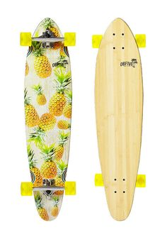 "OB5 - Pineapple Vibes38""  #planetsports #youneverridealone #ob5 #longboard"