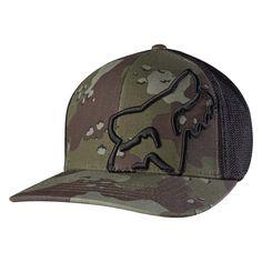 27aa5eb1058 Fox Racing Men s Up Sleeve Flexfit Hat