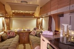 The interior of the Bailey Pursuit is transformed in to a relaxing spa for 'Bailey Boutique' day. Birmingham, Bristol, Fun Activities, Spa, Boutique, Interior, Home Decor, Short I Activities, Indoor