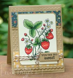 The Paper Landscaper: Flourishes Birthday Celebration!
