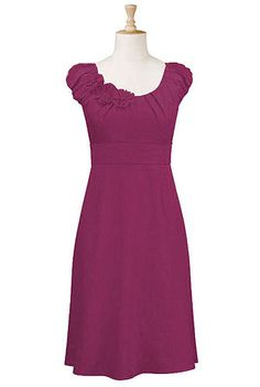 cute bridesmaid dress options on this site :) you can add sleeves, change the length, etc.... SO nice!