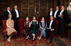 Downton Abbey Cast Season 5