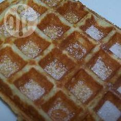 Zelfgemaakte wafels @ allrecipes.nl