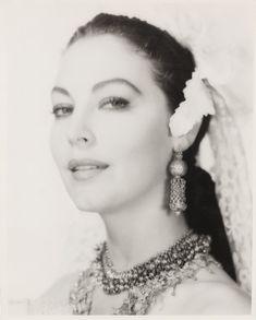 "Ava Gardner in ""Bhowani Junction"" 1956"