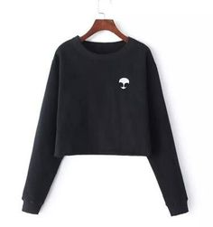 Embroidery ET Aliens Sweatshirts harajuku O-neck Sweatshirt Women Clothing Feminina Loose Short paragraph Fleece Jumper Pullover