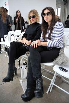 Chloe Sevigny and Jen Brill