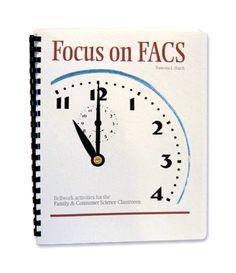 Focus on FACS, Bellwork Activities for the FACS Classroom