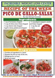 ideal protein Pico de Gallo Salsa
