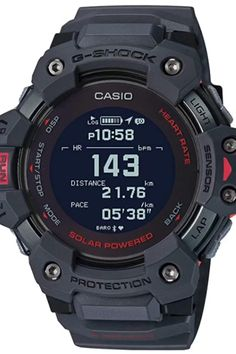 These are the latest additions to the G-SQUAD lineup of sports watches from G-SHOCK, which are equipped with heart rate monitor and GPS. Best Smart Watches, Best Watches For Men, Amazing Watches, Stylish Watches, Luxury Watches For Men, Cool Watches, Wrist Watches, G Shock Watches Mens, Diesel Watches For Men