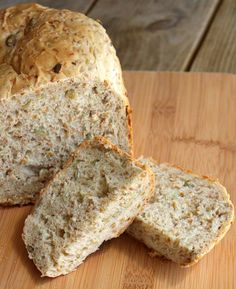 flax seed and pepita bread via @rachel
