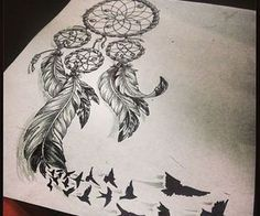 tattoo dreamcatcher ribs - Google Search